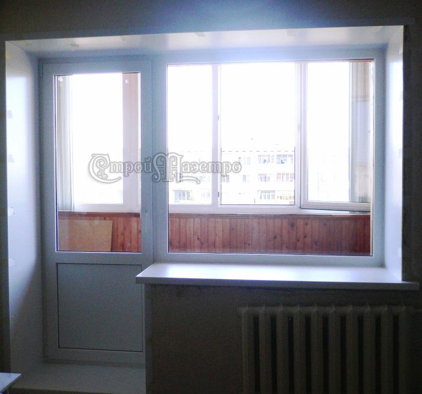 Раздвижные балконные двери реутов.